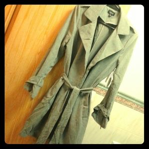 Green trench/Wrap Jacket  (S/M)